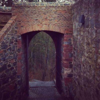 Вход в помещения замка