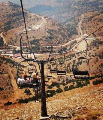 Гора Хермон в Израиле