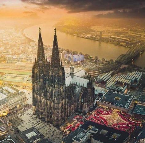 Город Кельн Германия