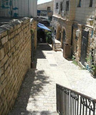 Древний город Зефат