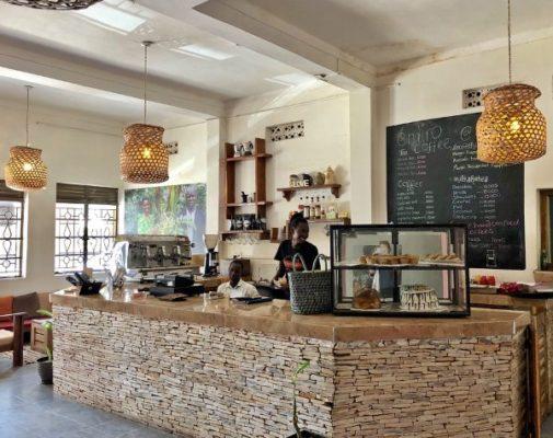 Кафе в Уганде