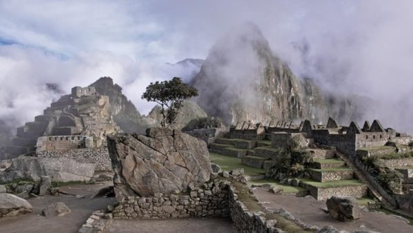 Мачу-Пикчу развалины