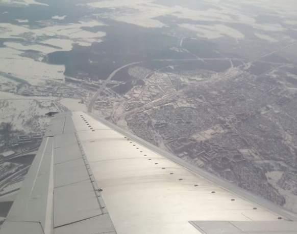 Минск с высоты птичьего полета