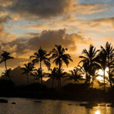 Пейзаж острова Маврикий