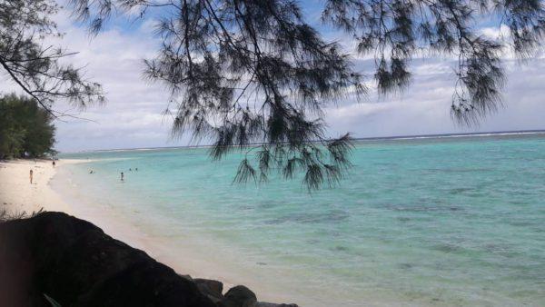 Пляж на островах Кука