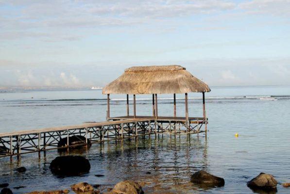 Пристань на острове