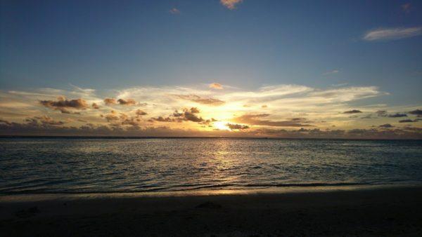 Рассвет на островах Кука