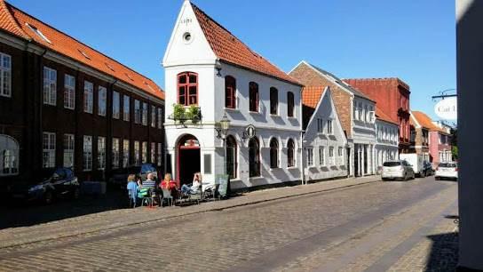 Средневековые улицы Дании