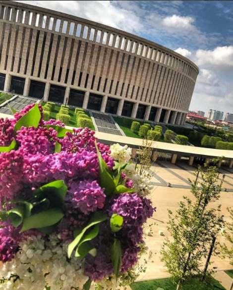 Стадион и парк отдыха в Краснодаре