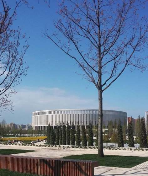 Стадион и парк