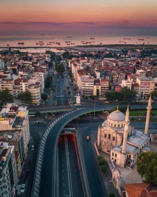 Стамбул общий вид