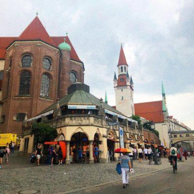 Старинная архитектура Мюнхена