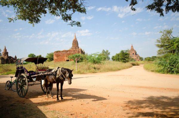 Старинный города в Мьянме
