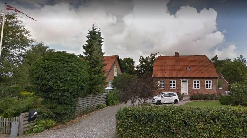 Частный дом в городе Рибе. Дания