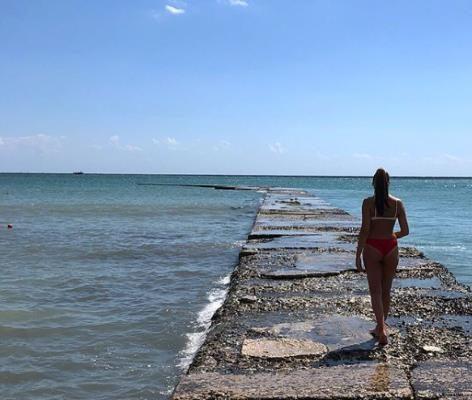 Черное море в г. Бальчик. Болгария