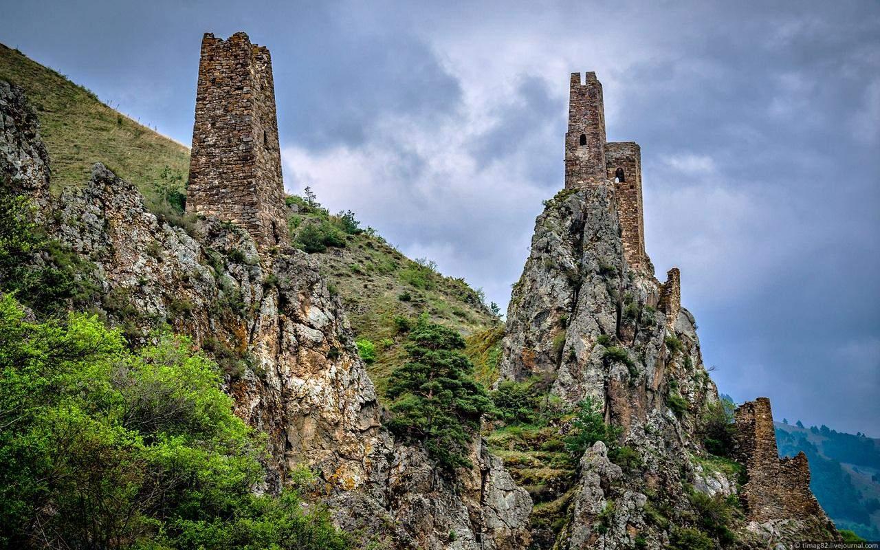 замок вовншки в ингушетии