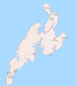 остров яп карта местности