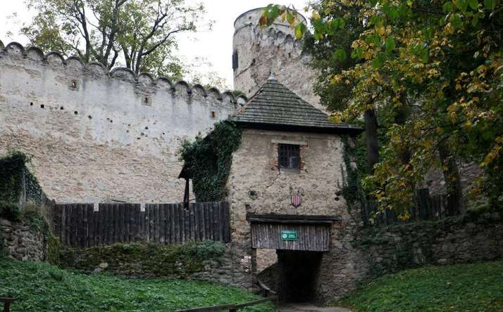 средневековый замок Хойник