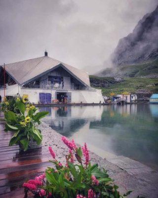 Современное жилье в горах