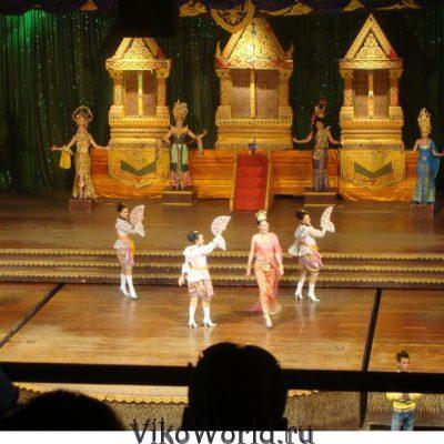 Театр в Тайланде. Патайя